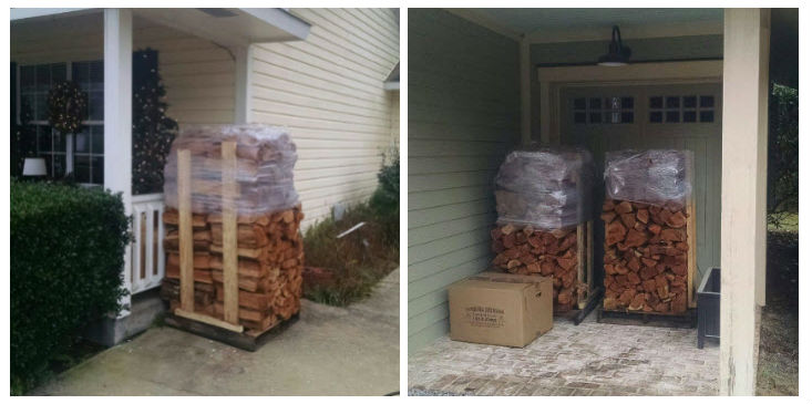 Carolina Morning Firewood Eco Pallet